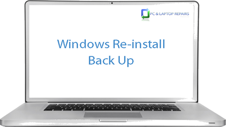 Windows Re-Install Back Up